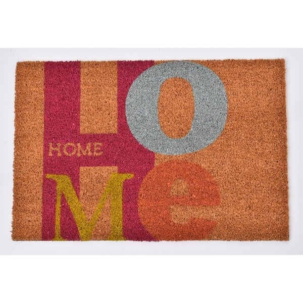 Evideco Sheltered Printed Front Door Mat Home