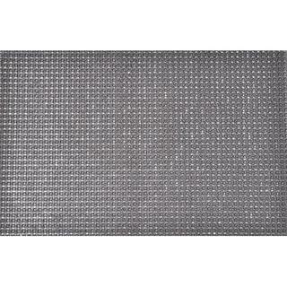 Evideco Outdoor Front Door Mat Pixie Artifical Grass Rug 24x16 Inch Grey