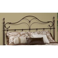 Hillsdale Bennett Bronze Metal King Bed Set with Rails