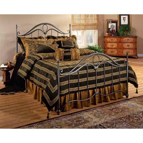 Hillsdale Kendall King Bed Set Rails not included