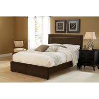 Hillsdale Amber Cal King Bed Set with Rails