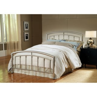 Hillsdale Claudia Silver Metal King Bed Set (Rails Not Included)