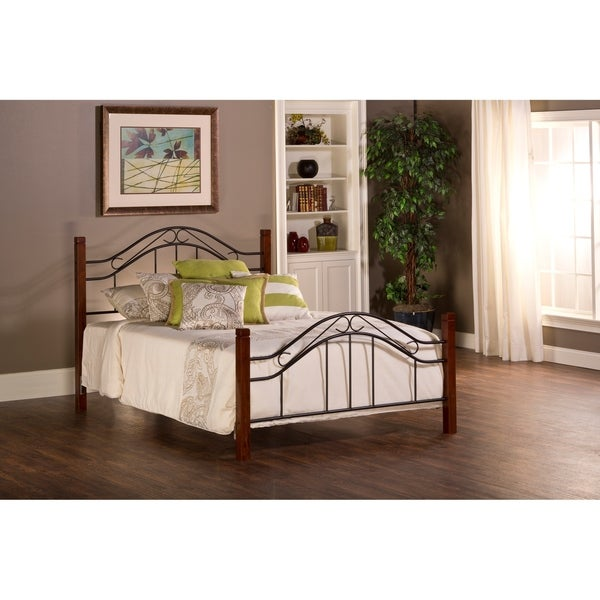 Hillsdale Matson Winsloh King Bed Set Rails not included
