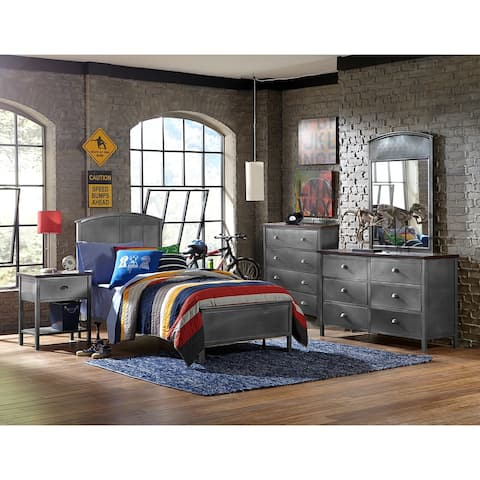 Hillsdale Urban Quarters Five PC Panel Full Bedroom Set
