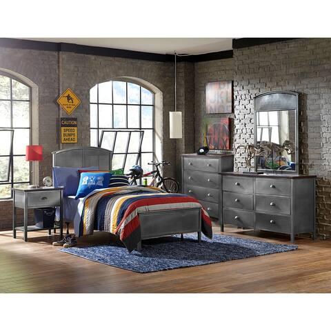 Hillsdale Urban Quarters Five PC Panel Twin Bedroom Set
