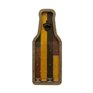 POP IT Beer Shaped Wall Mounted Bottle Opener Cap Catcher Game