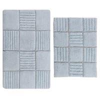 Chakkar Board 2 pc bath rug set