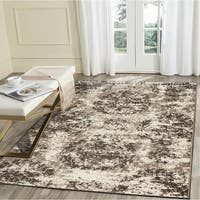 LR Home Infinity Grey Distressed Indoor Area Rug - 7'9 x 9'6