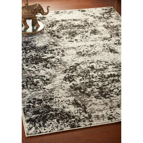 LR Home Infinity Modern Abstract Rug