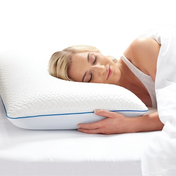 Touch Of Comfort Endless Cool Memory Foam Pillow