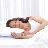 Touch of Comfort 2 in 1 Memory Foam & Fiber Pillow