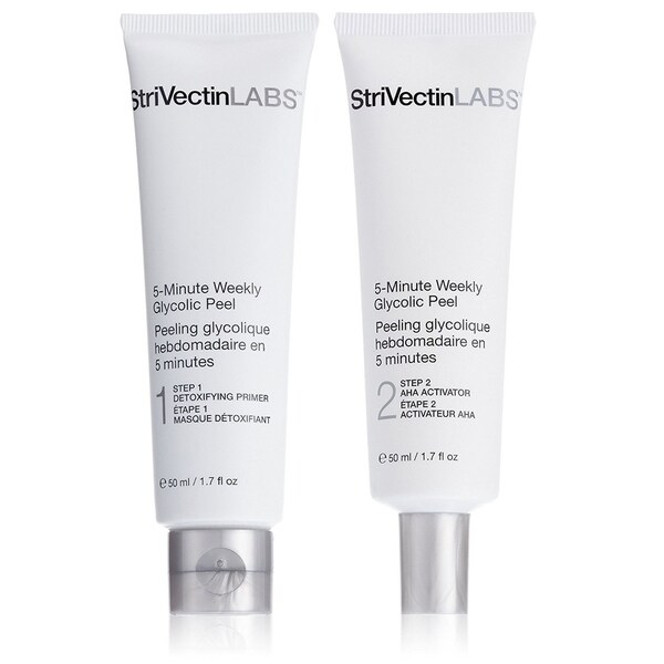 StriVectin LABS 5-Minute Weekly Glycolic Peel. Opens flyout.