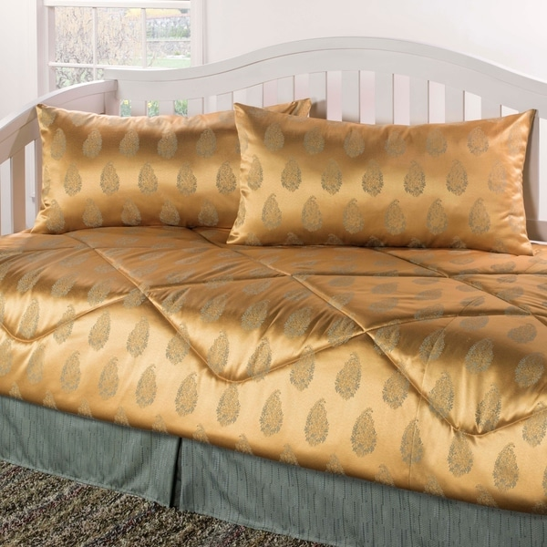 Regal gold seafoam Daybed Set. Opens flyout.