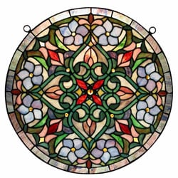 Tiffany Hanging Window Panel