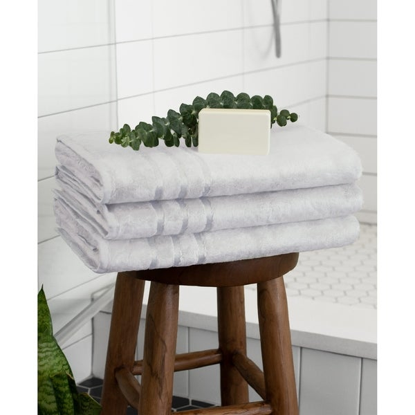 "Cariloha Ultra-Soft Viscose from Bamboo Bath Towel (Set of 1) 30"" X 56"""