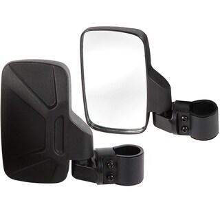 OxGord Shatter Proof Tempered Glass UTV Side View Mirrors