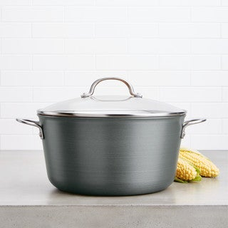 Link to Ayesha Curry Home Collection Hard Anodized Aluminum Stockpot, 10-Quart Similar Items in Cookware