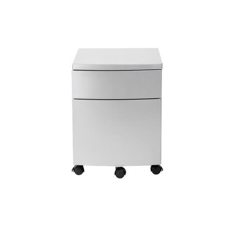 Ingo Filing Cabinet in Silver