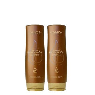 L'ANZA Healing Hair Care Keratin 8.5-ounceHealing Oil Conditioner (Pack of 2)