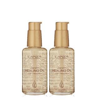 L'ANZA Keratin Healing Oil 3.4-ounce Hair Treatment (Pack of 2)