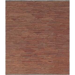 Noori Rug Winchester Kilim Ardine Red/Rust Rug - 8'5 x 10'1