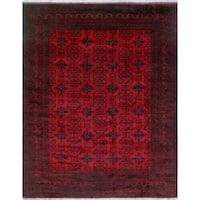 Noori Rug Khal Mohammadi Ivory Red/Black Rug - 10'1 x 12'9