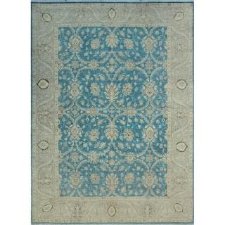 Noori Rug Yousafi Fine Chobi Alfrida Blue/Grey Rug - 8'7 x 11'10