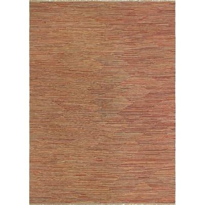 Noori Rug Winchester Kilim Brady Red/Beige Rug - 10'0 x 14'5
