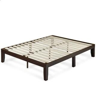 Priage by Zinus 14 Inch Wood Platform Bed