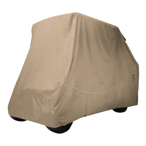 Classic Accessories 40-067-015801-RT Quick-Fit Golf Cart Storage Cover