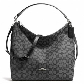 Coach F58327 Celeste Hobo Crossbody Black Smoke