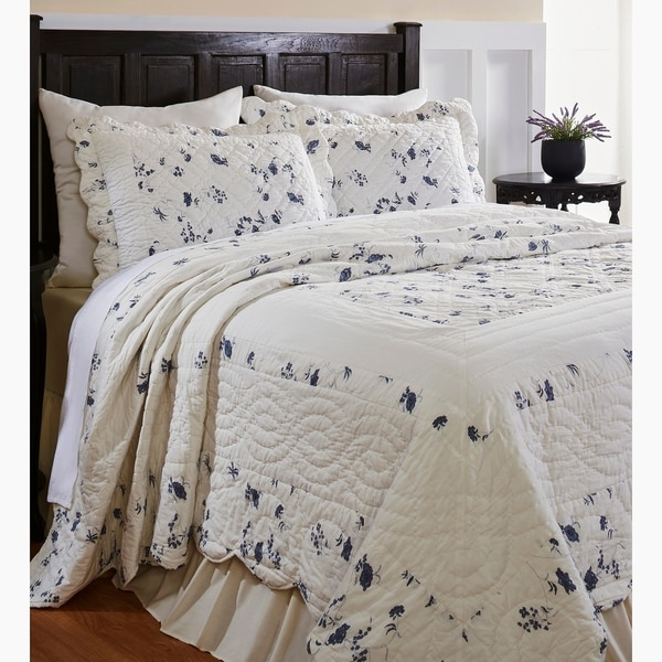 The Gray Barn Newgrange Reversible 3-piece Quilt Set. Opens flyout.
