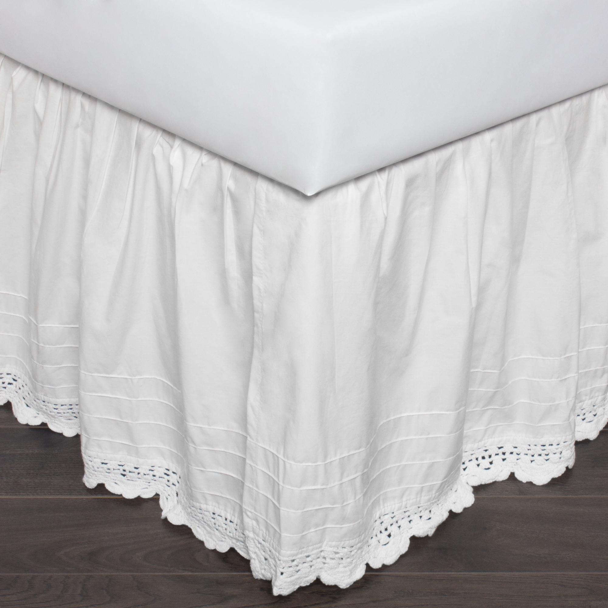 Bedding 25 Full Tan Bed Skirt Or Dust Ruffle Split Corners Home Furniture Diy Pneumec In