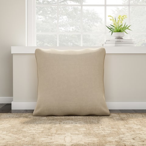 Copper Grove Coleus Faux Suede 26-inch Floor Pillow