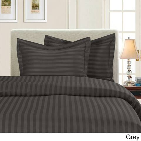 Porch & Den Fairfield Dobby Stripe 3-piece Duvet Cover Set