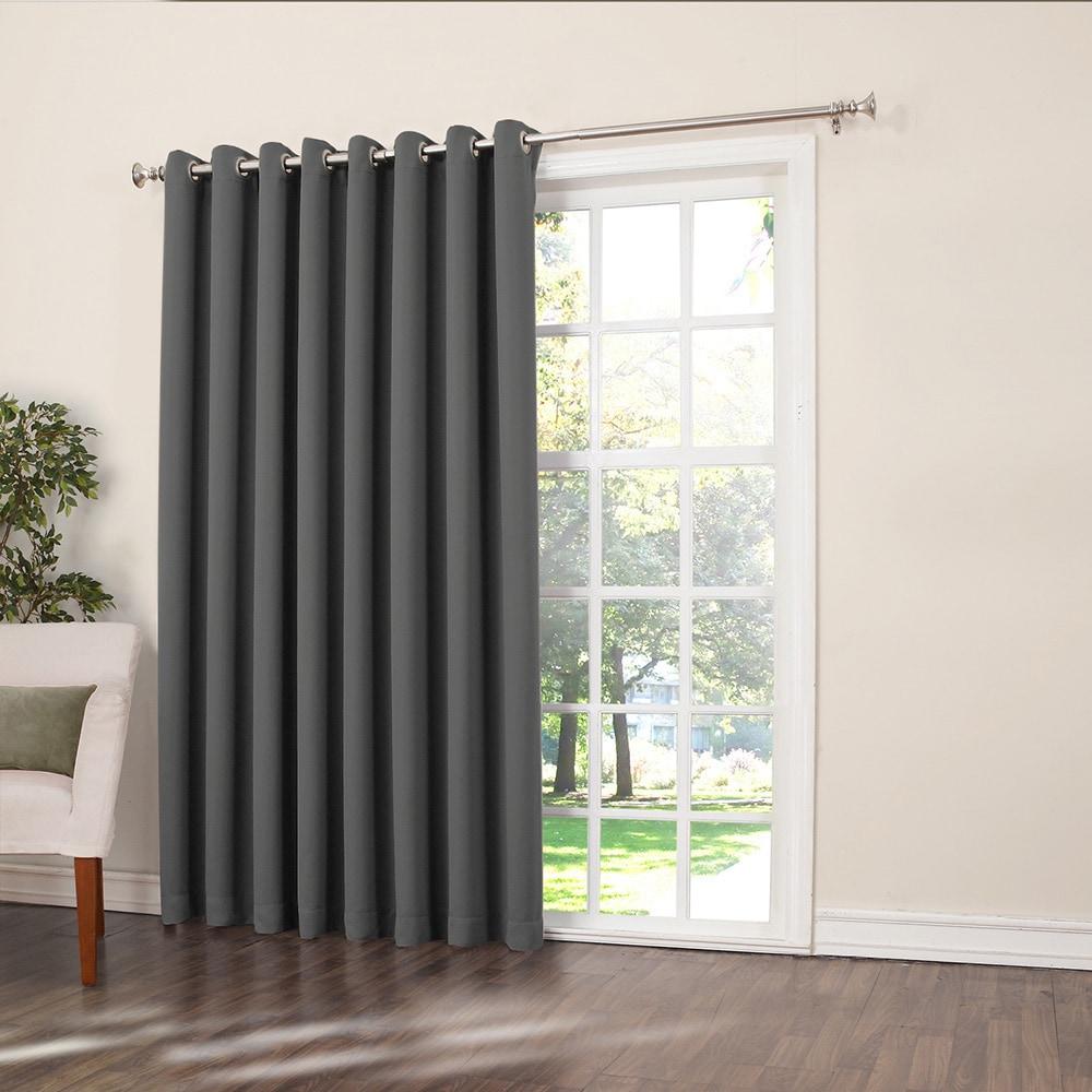 Shop Porch Den Nantahala Rod Pocket Room Darkening Patio Door Single Curtain Panel On Sale Overstock 19972871