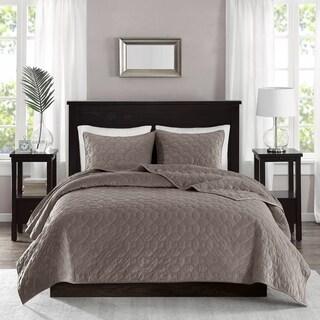 The Gray Barn Sleeping Hills Velvet 3-piece Coverlet Set