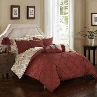 Strick & Bolton Josephine Southwest Geometric Print 10-piece Bed in a Bag with Sheet Set