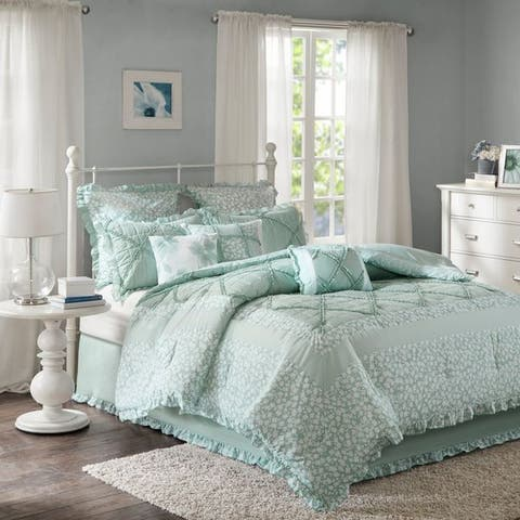 Madison Park Heidi Quilted Cotton Comforter Set