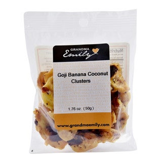 Grandma Emily's, Granola Clusters Snack Pack with Hearty Goji & Banana 1.76 oz x 1