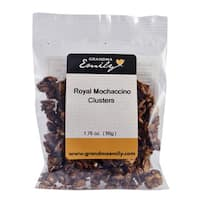 Royal Mochaccino Clusters by Grandma Emily. Premium Royal Mochaccino, Nutritious Hearty Snack Packs 1.76 oz x 1
