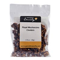 Royal Mochaccino Clusters by Grandma Emily. Premium Royal Mochaccino, Nutritious Hearty Snack Packs 1.76 oz x 4