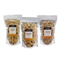 Grandma Emily Organic Granola 6 Mixpack. Organic Cranberry Almond/Organic Maple Quinoa/Organic Original x 6 bags