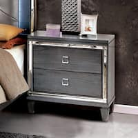 Furniture of America Curtis Contemporary Glam 2-drawer Nightstand