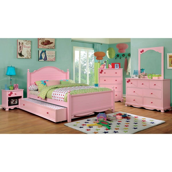 Copper Grove La Mer Transitional Plank Style Youth Platform Bed