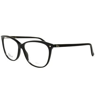 Dior Rectangle CD 3270 807 Women Black Frame Eyeglasses
