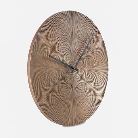 Maximes Ridges Wall Clock