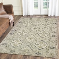 LR Home Modern Traditions Inherit Green Indoor Area Rug ( 8' x 10' ) - 8' x10'