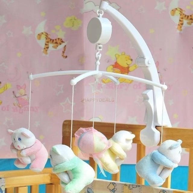 Baby Crib Mobile Bed Bell Toy Holder Arm Bracket Hanging Music Box -  Coutlet