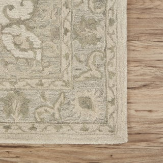 LR Home Modern Traditions Legend Green Indoor Area Rug ( 8' x 10' ) - 8' x10'